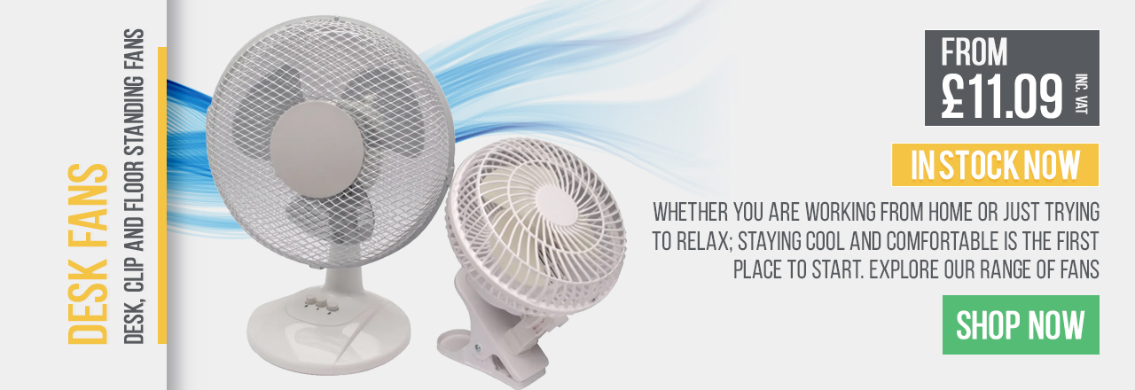 Whether you are working from home or just trying to relax; staying cool and comfortable is the first place to start.