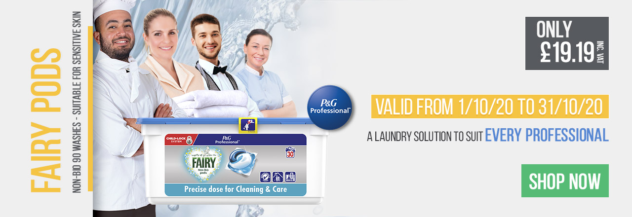 Fairy Pods - A Laundry Solution To Suit Every Professional