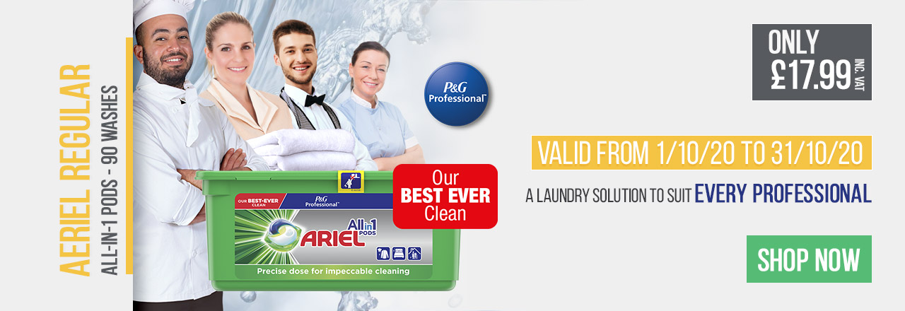 Ariel All in One Pods - A Laundry Solution To Suit Every Professional