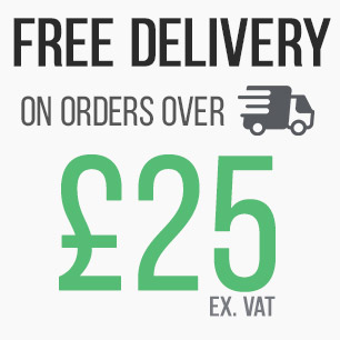 Free deliveries on orders over £25