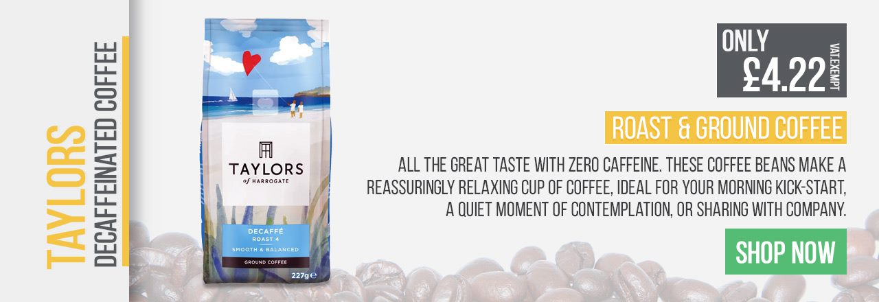 All the great taste with zero caffeine. These coffee beans make a reassuringly relaxing cup of coffee, ideal for your morning kick-start.