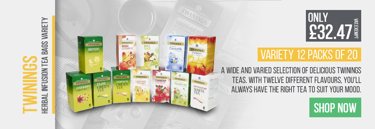 With twelve different falvours, you'll always have the right tea to suit your mood.