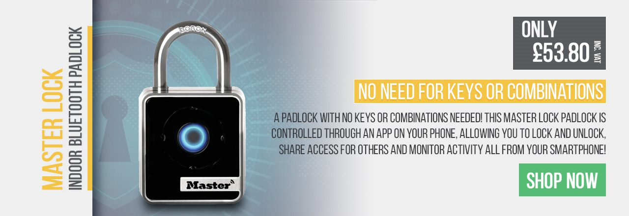 A padlock with no keys or combinations needed!