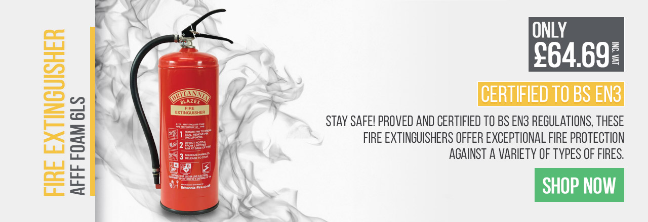 These fire extinguishers offer exceptional fire protection against a variety of fires.
