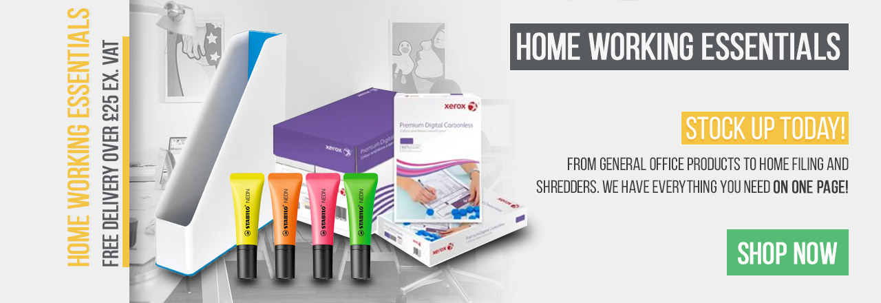 Stock up today on your home working essentials!