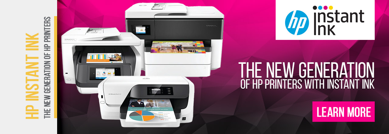 The New Generation of HP Printers with Instant Ink