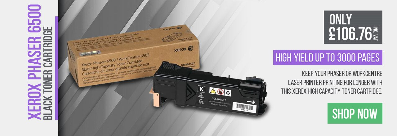 Keep your Phaser or WorkCentre Laser Printer printing for longer with this Xerox High Capacity Toner Cartridge.