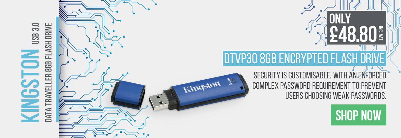 Choose this flash drive for complete security of your files.